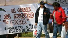 La huelga en Chile hunde la producción de cobre de BHP Billiton