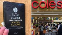 'Nearly broke my tooth': Woman's dangerous discovery in Coles chocolate
