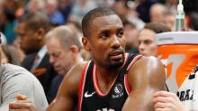 Ibaka, lesionado del tobillo izquierdo, duda con los Raptors para el sexto partido ante los Celtics