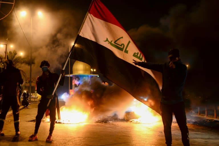 Iraq's divided political class faces mounting pressure from the street to come up with a compromise candidate to replace the unpopular caretaker prime minister (AFP Photo/Haidar HAMDANI)