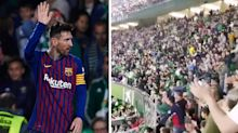 Messi masterclass earns him standing ovation from rival fans