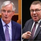 Michel Barnier writes to Eurosceptic MP Mark Francois saying he still can't see the point in Brexit