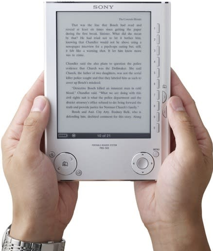 Sony Reader goes open, will be able to work with other booksellers