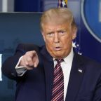 Trump says he is holding up coronavirus aid to block Postal Service funds for voting by mail