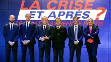 """""""Gilets jaunes"""", ordre public et fiscalité: débat animé entre chefs de parti"""