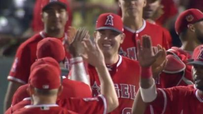 Angels finish rare spring training no-hitter with three defensive gems