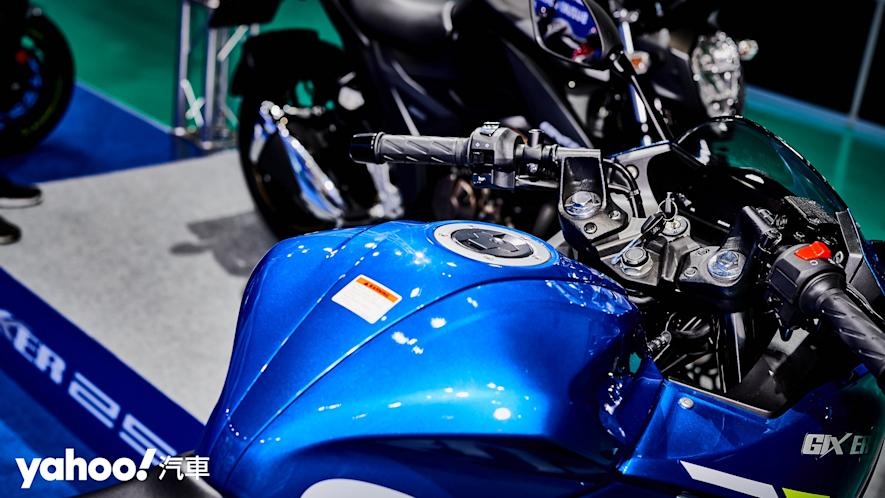 再次見面也依舊心動!2021 Suzuki Gixxer 250、SF 250台北重型機車展賞車! - 5