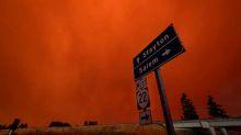'Explosive' western U.S. wildfires threaten Oregon towns
