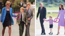 Princess Diana and Kate Middleton's Body Language