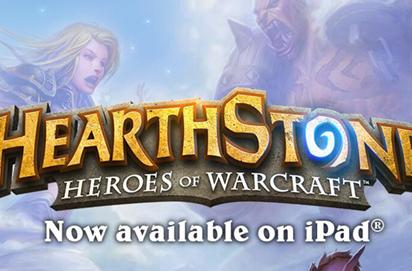 Are you playing Hearthstone for iPad?