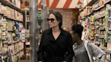 Angelina Jolie buys generic oatmeal — and other things we learned from photos of her at the grocery store