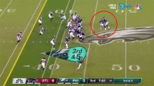 Eagles fool Falcons with Super Bowl-style trick play