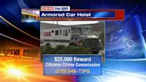 $25,000 reward for Halloween armored car robbery