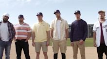 Milwaukee Brewers players re-created an iconic scene from The Sandlot