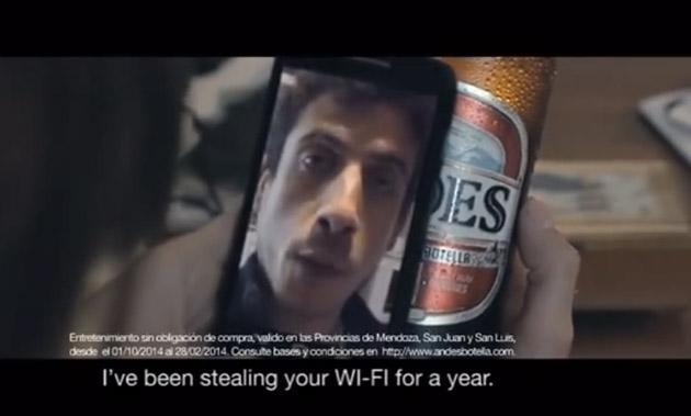 Beer bottles deliver your video message through QR codes