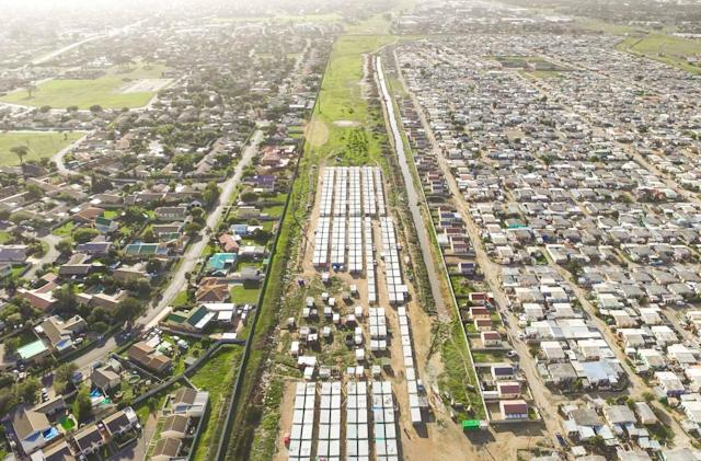 South Africa's rich-poor divide, captured by drone