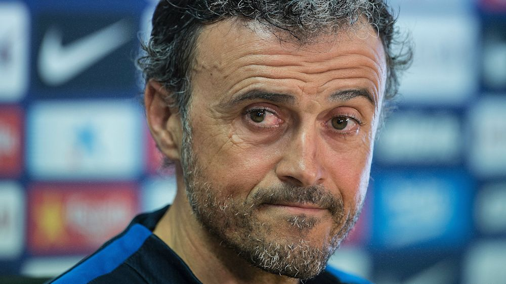 "​Luis Enrique: ""estamos en inferioridad pero lucharemos hasta el final"""