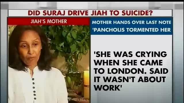 Sooraj is still not here: Jiah Khan's mother