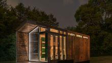 (FOTOS) Esta casa diminuta de lujo utiliza exclusivamente energía solar