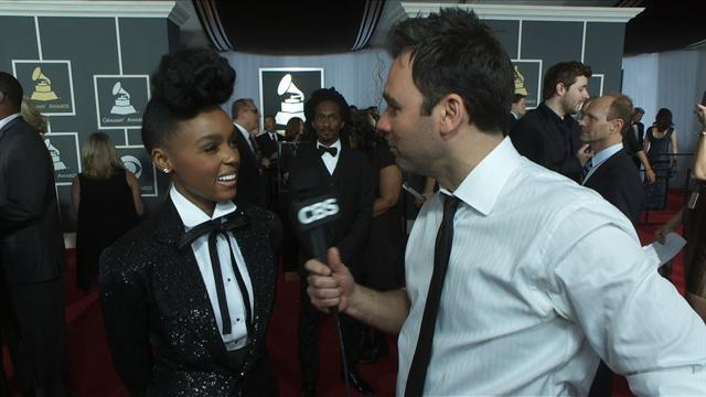 53rd Grammy Awards - Janelle Monae Interview