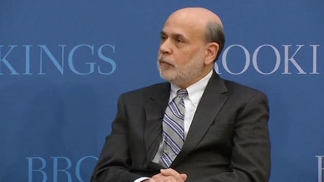 Bernanke: inflation not a concern
