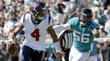 Watson too hurt to fly, but somehow OK to face Jags