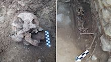 Scientists' disturbing find after unearthing 1550-year-old child grave