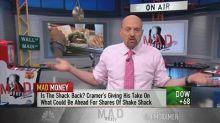 Shake Shack shares too expensive