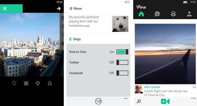 Updated Vine for Windows Phone lets you save clips as drafts