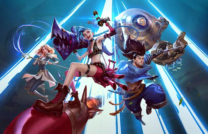 'League of Legends: Wild Rift' characters