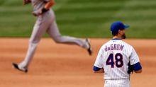 Rojas gets key hit as Marlins beat deGrom, Mets 5-3