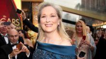 不穿 Chanel 去奧斯卡的 Meryl Streep,穿了這件晚裝亮相!
