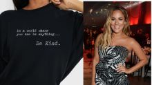 Caroline Flack-inspired 'Be Kind' T-shirt raises £200,000 for Samaritans