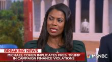 Omarosa on Cohen's guilty plea: 'This is the beginning of the end for Donald Trump'