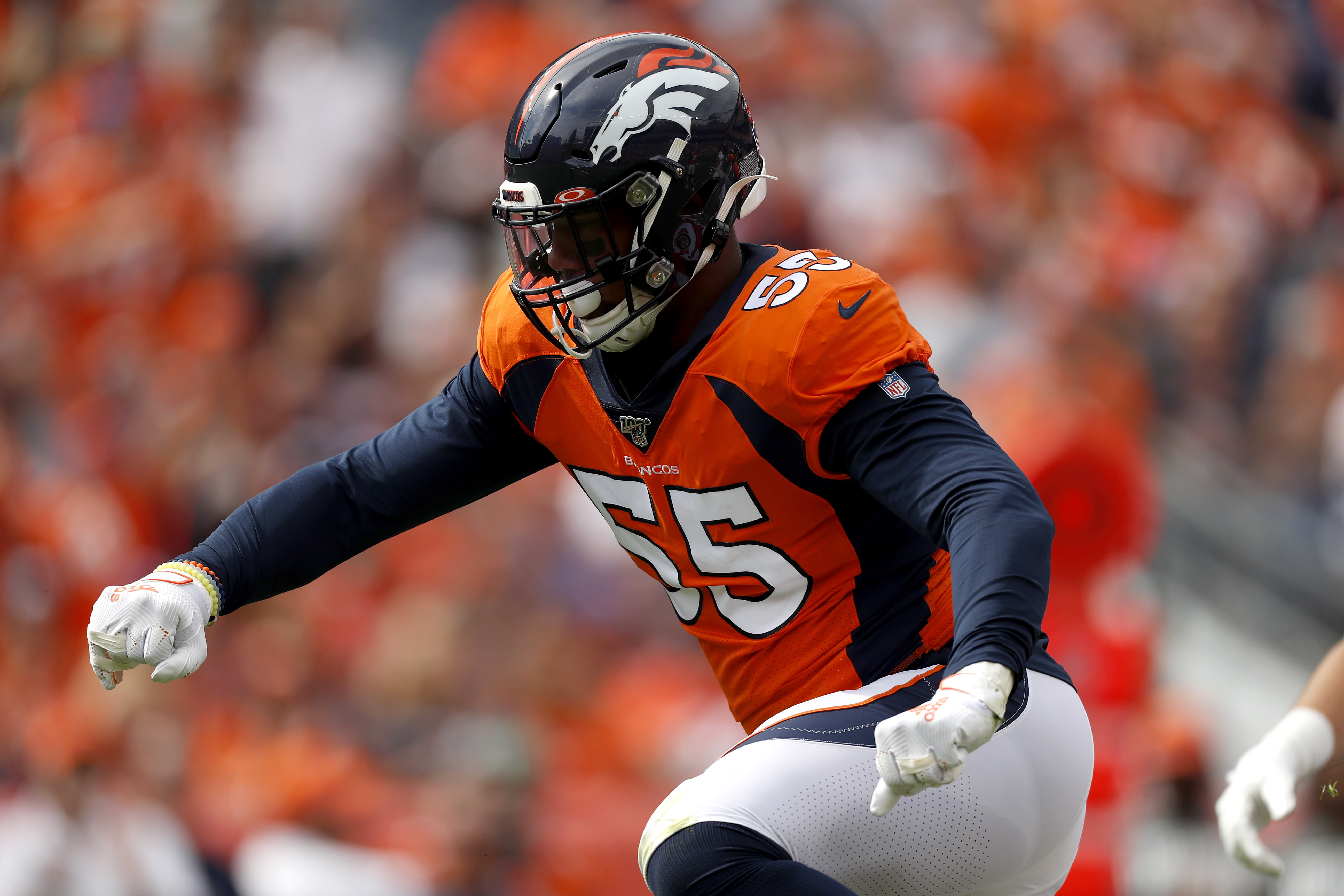 Broncos' Bradley Chubb out for season after tearing ACL