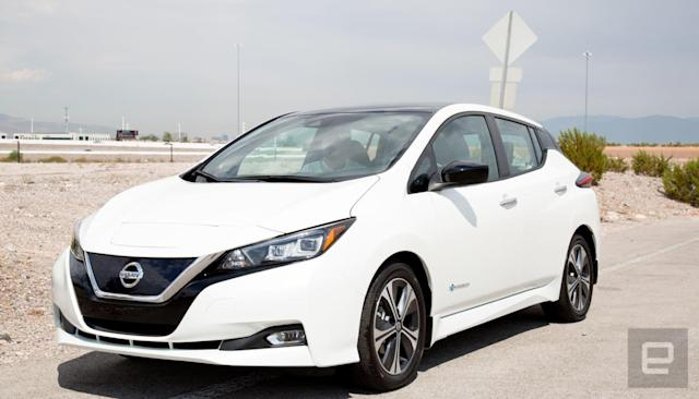 Nissan Leaf is the first electric car to top 400,000 sales