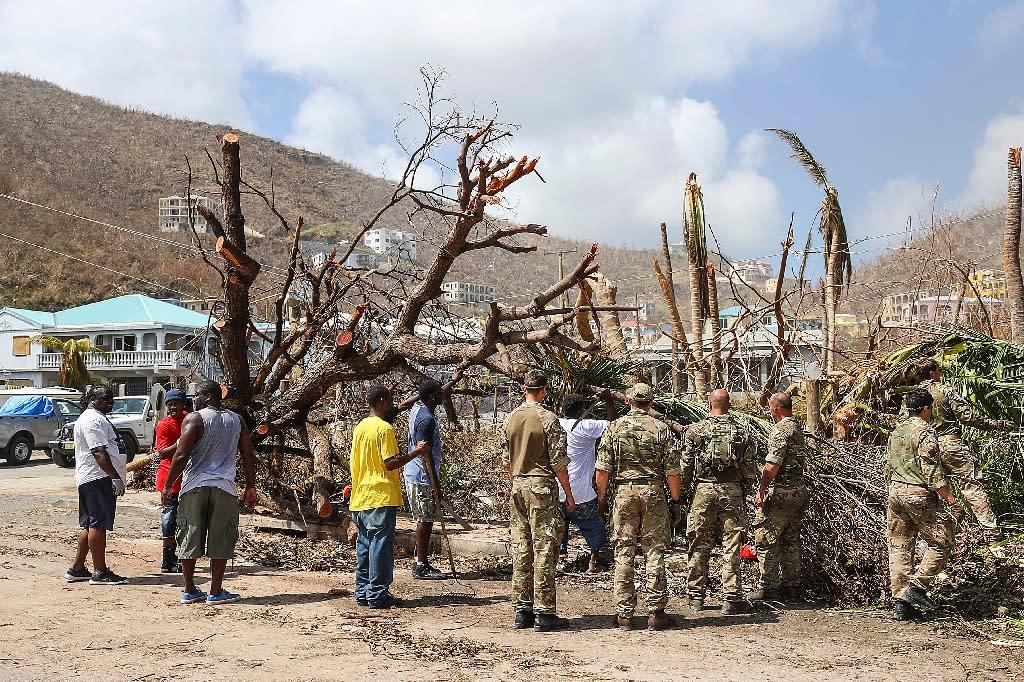 A total of nine people were killed by Hurricane Irma in British Caribbean territories last week