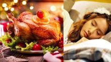聖誕食火雞會睡更甜!專業護士教你晚餐吃甚麼抗失眠