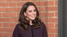 Kate Middleton recycles $495 maternity coat with a 'touch of sparkle'
