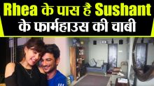 Rhea Chakraborty escapes with Sushant Singh Rajput's farmhouse second Key