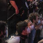 de Blasio, Cuomo defend police actions against protesters