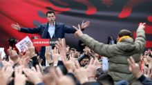 Albanian opposition leader charged over anti-regime protests