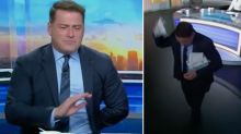 Karl Stefanovic walks out of Today show live on air