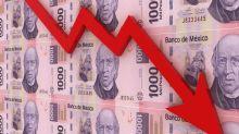 El peso mexicano se hunde y se sitúa por encima de los 21 por dólar