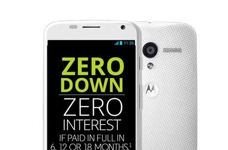 Need money for a new Moto X? Motorola's got a financing fix for that
