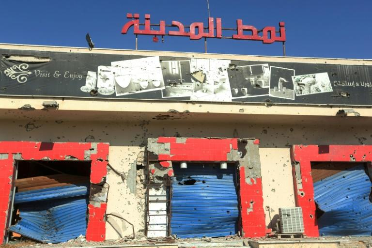 Small business are struggling to make a difference in Libya and entrepreneurs say the government must help by fighting corruption, introducing structural reforms and restoring stability (AFP Photo/Mahmud TURKIA)