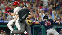 Bryce Harper, Zack Wheeler power Phillies past Braves