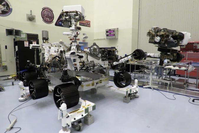NASA's Mars rover Perseverance in waiting