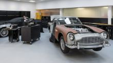 Aston Martin 'Goldfinger' DB5 continuation cars' gadgets revealed