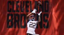 Browns rookie safety Delpit carted off with practice injury